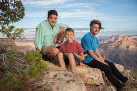 7.29.17 Family Portraits at Grand Canyon South Rim Lipan Point Terri Attridge-21