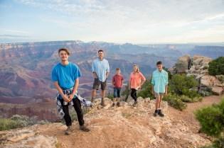 7.29.17 Family Portraits at Grand Canyon South Rim Lipan Point Terri Attridge-33
