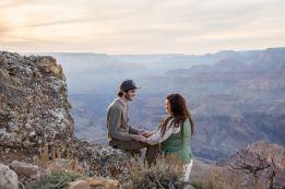 11.13.17 Lipan Point Grand Canyon South Rim Engagment Proposal photography by Terri Attridge-72