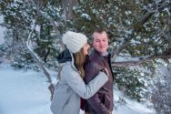 winter south rim couples photos