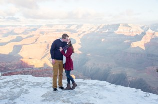 1.21.18 Ryan and Lizzy Engagement photos at Grand Canyon Photography by Terri Attridge-18