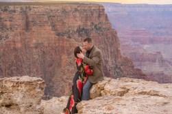 epic kiss engagement photo session