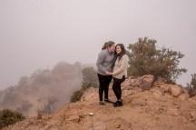 two ladies engaged