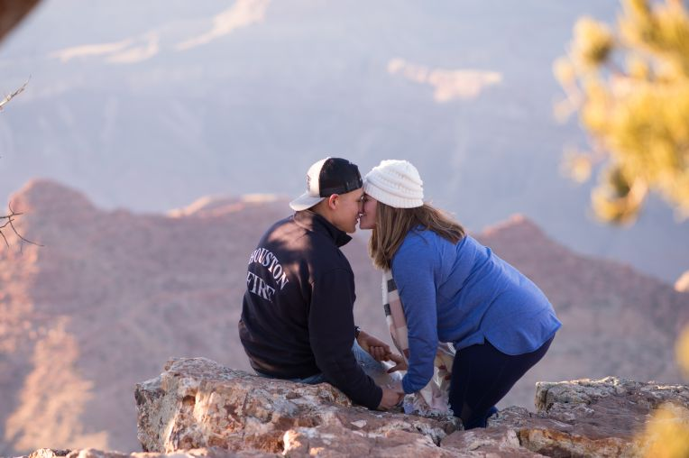 3.2.18 Engagement Proposal at Grand Canyon photography by Terri Attridge-6