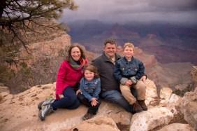 rain or shine natural photography at grand canyon