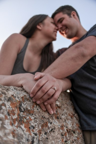 Engagement Ring Grand Canyon