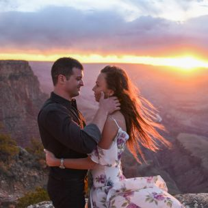 4.27.18 Elopement at Lipan Point Grand Canyon South Rim Photography by Terri Attridge-66