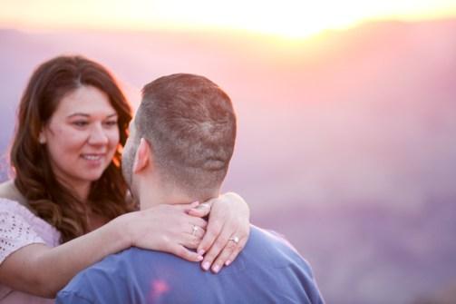 sunset at Lipan Point Grand Canyon