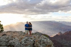 Sunset location at the South Rim