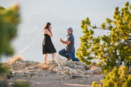 6.12.18 LR Engagement at Grand Canyon South Rim photography by Terri Attridge-239