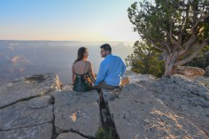Grand Canyon Engagement Portraits - Julia
