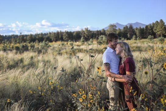 Love at Lipan Point Grand Canyon