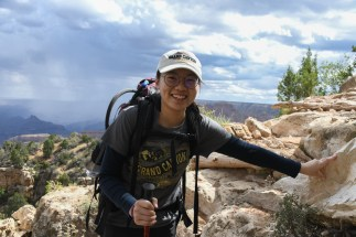 9.1.18 MR Amy and Jessica hike to Horseshoe Mesa photography by Terri Attridge-89