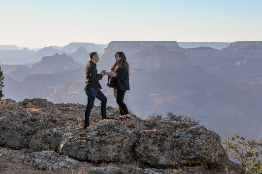 proposal photos National Park