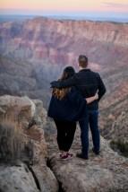 Desert View Engagement photo