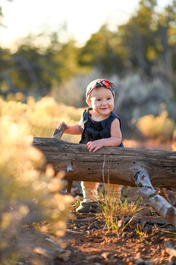 Grand Canyon Children's portrait