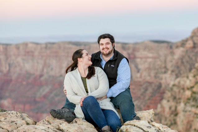 11.10.18 MR Engagement Photos at Grand Canyon photography by Terri Attridge-75