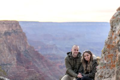 11.17.18 MR Grand Canyon Sunset Surprise Engagement Couples Photos photography by Terri Attridge-16