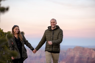 11.17.18 MR Grand Canyon Sunset Surprise Engagement Couples Photos photography by Terri Attridge-26