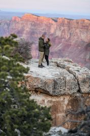11.17.18 MR Grand Canyon Sunset Surprise Engagement Couples Photos photography by Terri Attridge-68