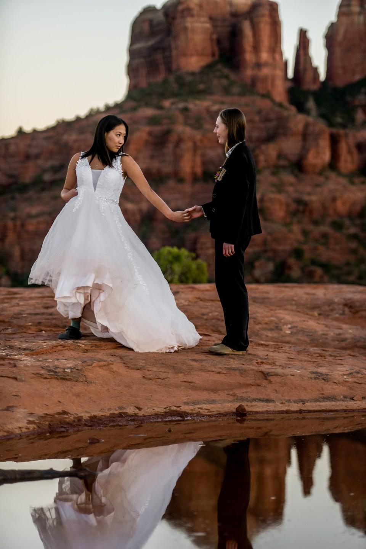 Sedona Tiny Wedding Ceremony