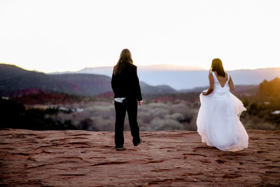 Sedona Hiking Wedding