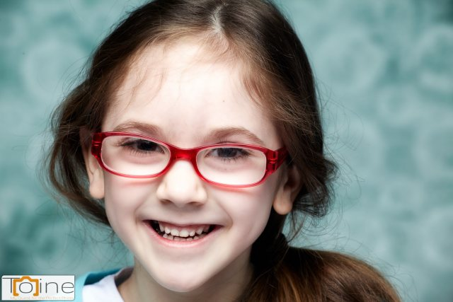 Here's our six year old niece. Her energy and laughter can put a smile on anyone's face!