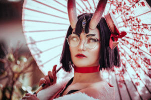 Lady Angie - Cosplayer Shuten Douji