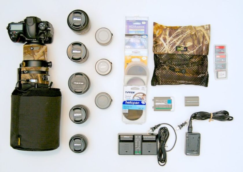 Contents that will fit in a Lowepro Pro Roller x200 Roller Bag