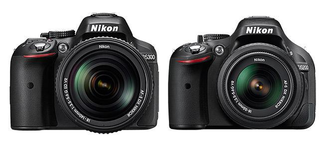 Nikon D5300 vs D5200