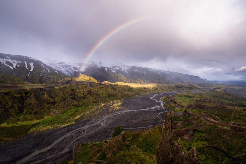 8 Final Thorsmork Rainbow Image