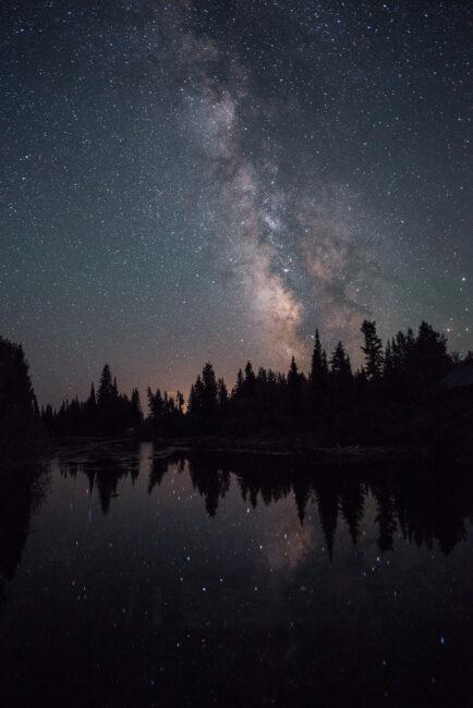 Milky Way taken with modified NPF rule for sharp stars