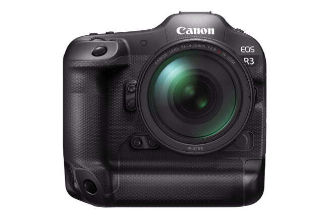 Canon EOS R3 Front View