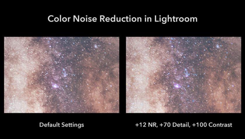 Lightroom Color Noise Reduction Default vs My Preferences copy