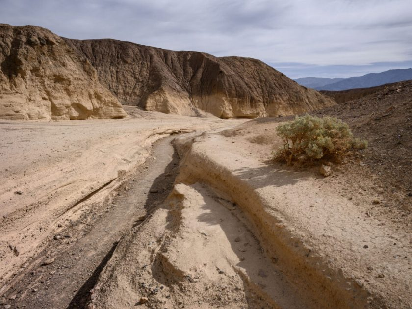 Death Valley Dry Riverbed