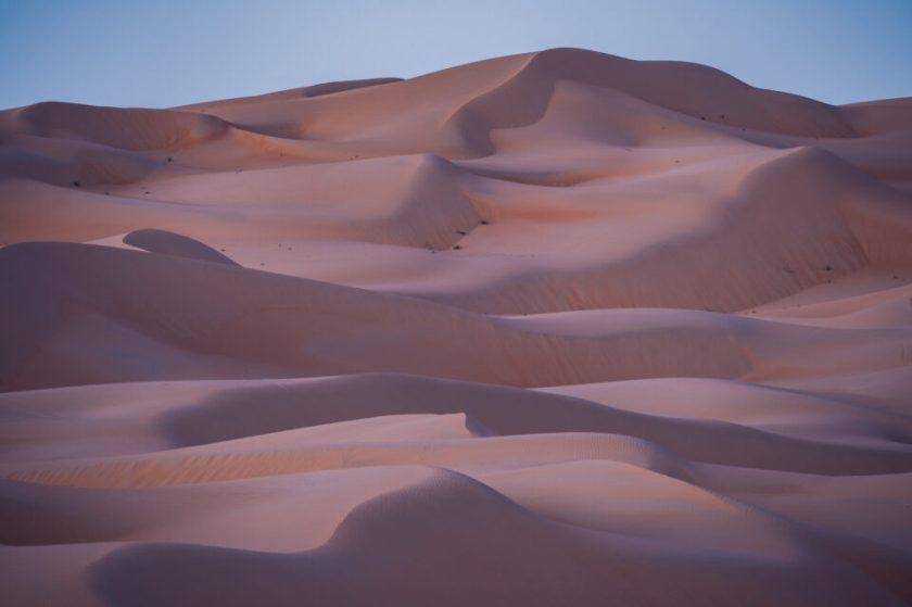 60 Second Exposure of Sand Dunes