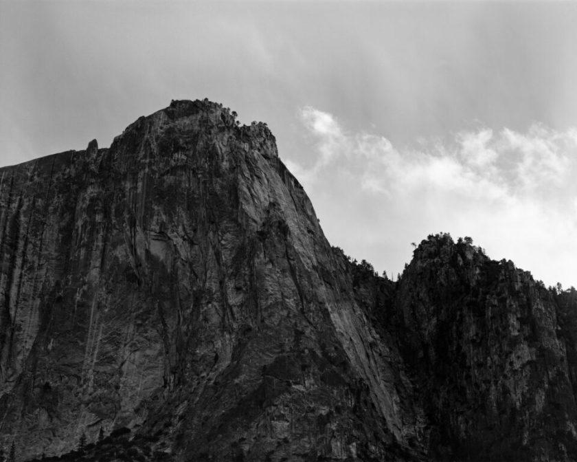 Yosemite Telephoto Black and White 4x5