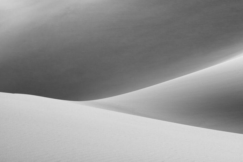 2016 Black and White Sand Dunes