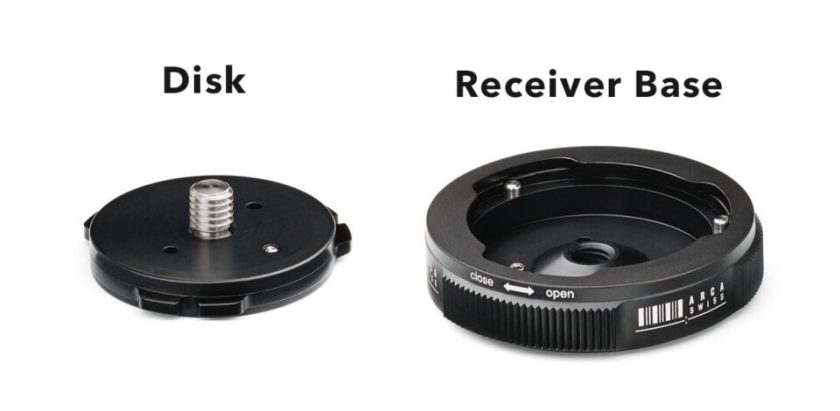 Arca Swiss Quick Link Set Disk and Receiver Base