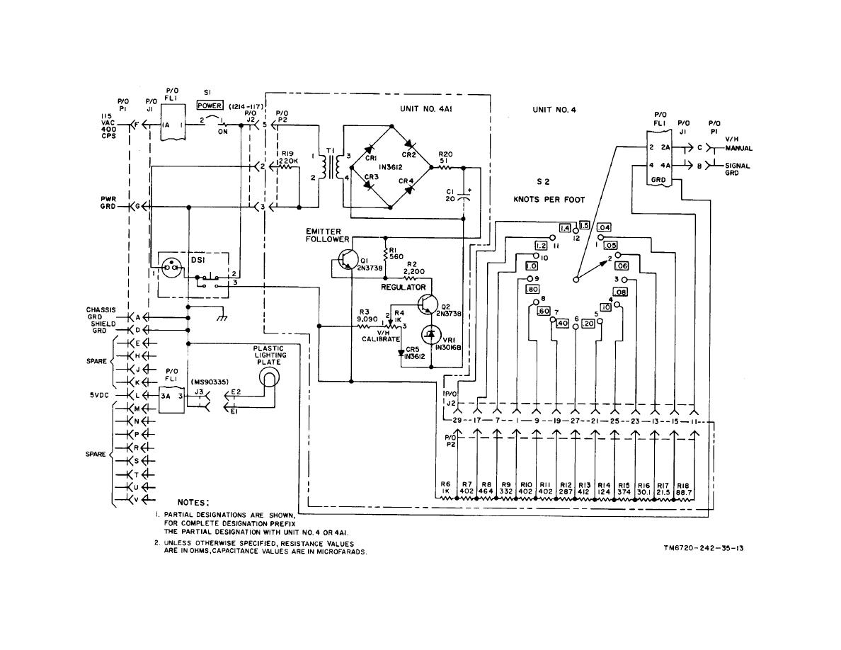 Figure 6 1 V H Control Panel Schematic Diagram