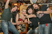 Bob, Anna,Apollo and Petros at the Hard Rock!!!