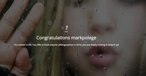 Mark Polege, TOP 20% of MOST POPULAR PHOTOGRAPHERS for 2013, 2014, 2015, 2016!