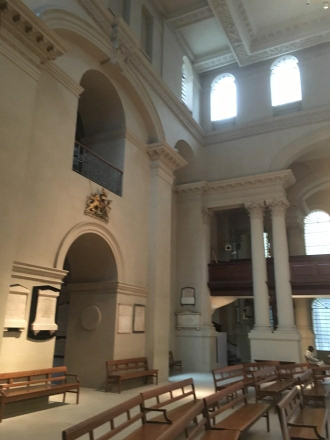 St George's, Bloomsbury.