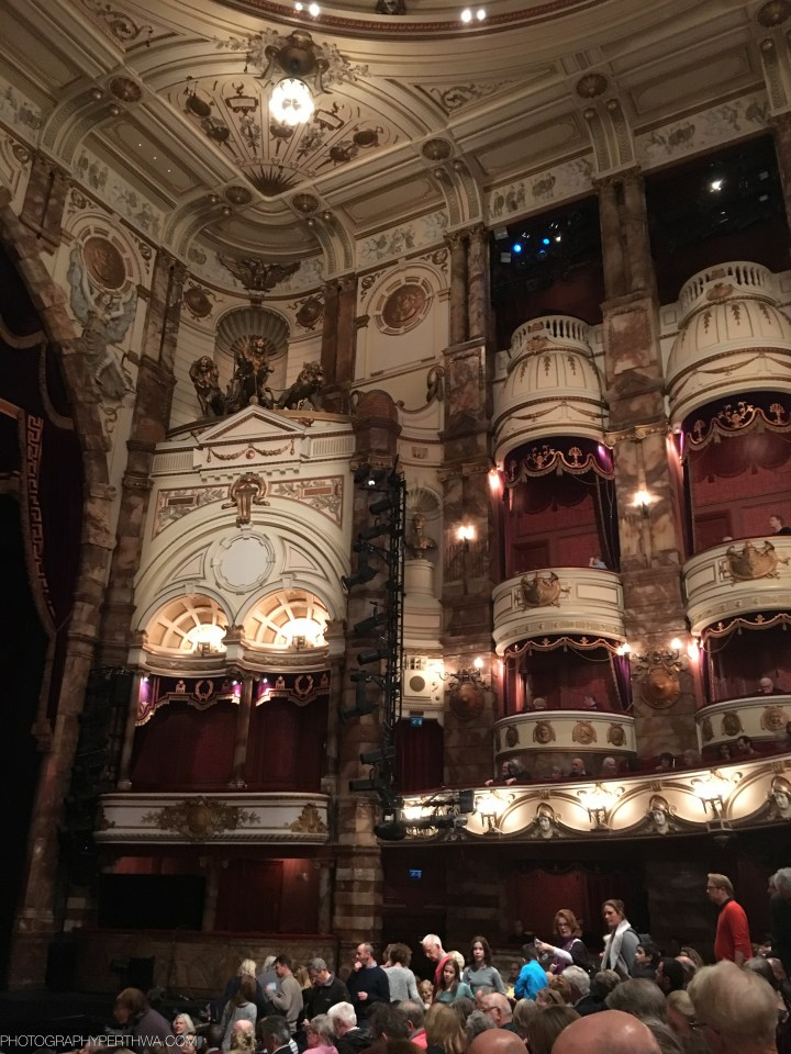 The London Coliseum-interior