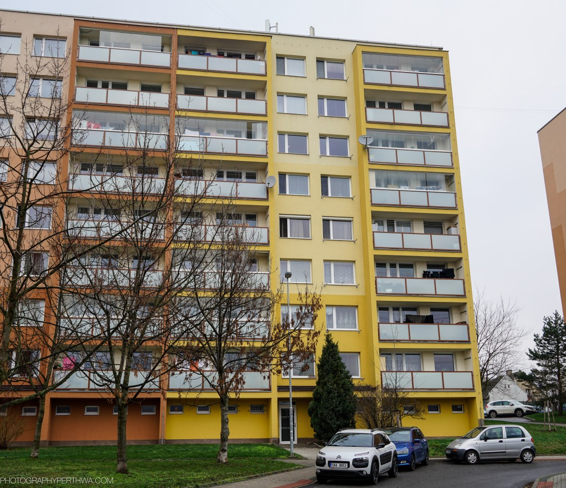 Our apartment block in Brandys