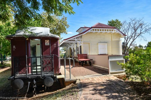 Station at the Australian Workers Heritage Centre (1 of 1)