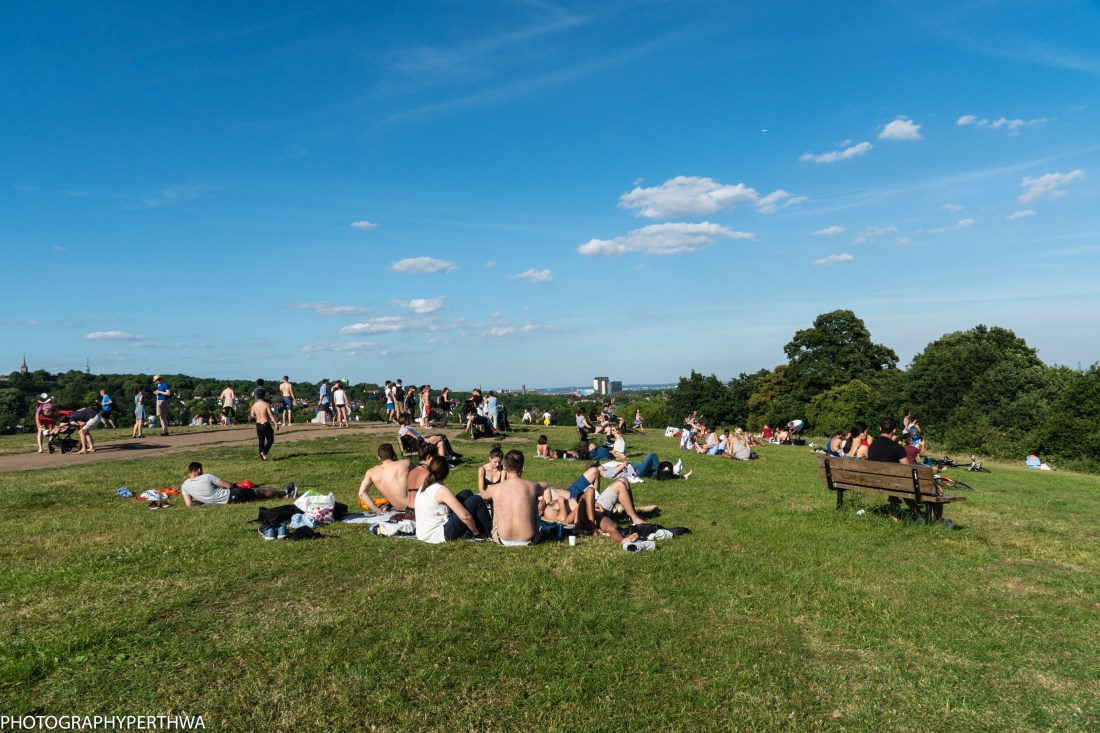 enjoying the sunshine on Parliament Hill (1 of 1)