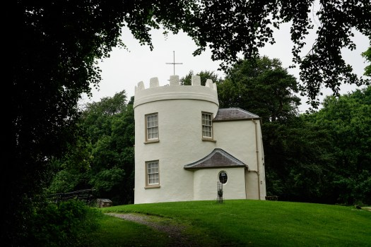 the white house at Kymin, Monmouth (1 of 1)