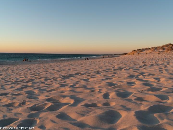 Mullaloo Beach sunset sand (1 of 1)