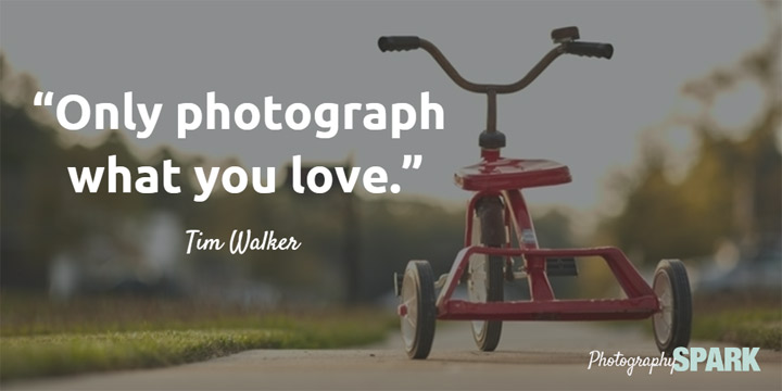 23 Most Famous   Inspirational Photography Quotes Only photograph what you love   Tim Walker  View the full list of famous  photography